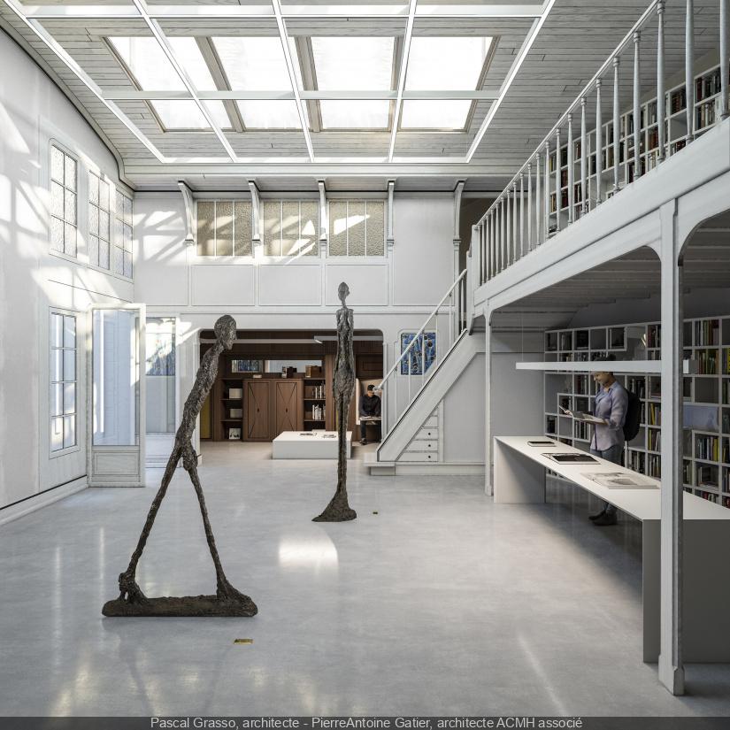 Ouverture de l'Institut Giacometti à Montparnasse