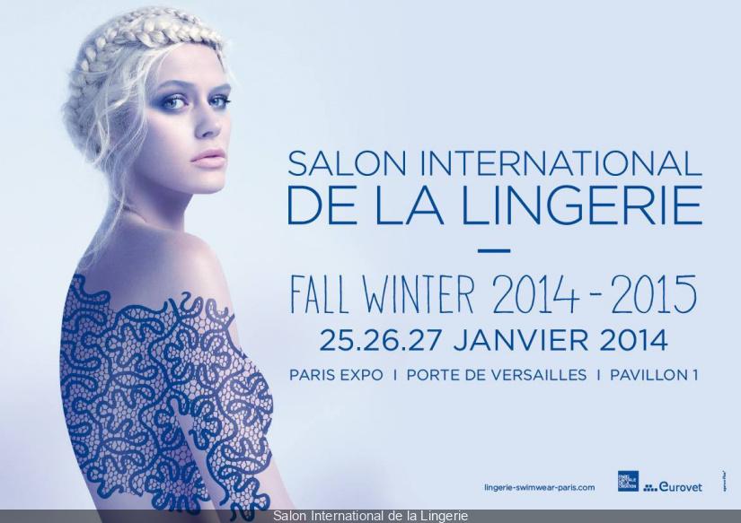 Salon international de la lingerie 2014 for Salon international lingerie