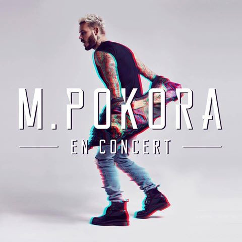M pokora en concerts au z nith de paris en mars 2017 for Salon paris mars 2017