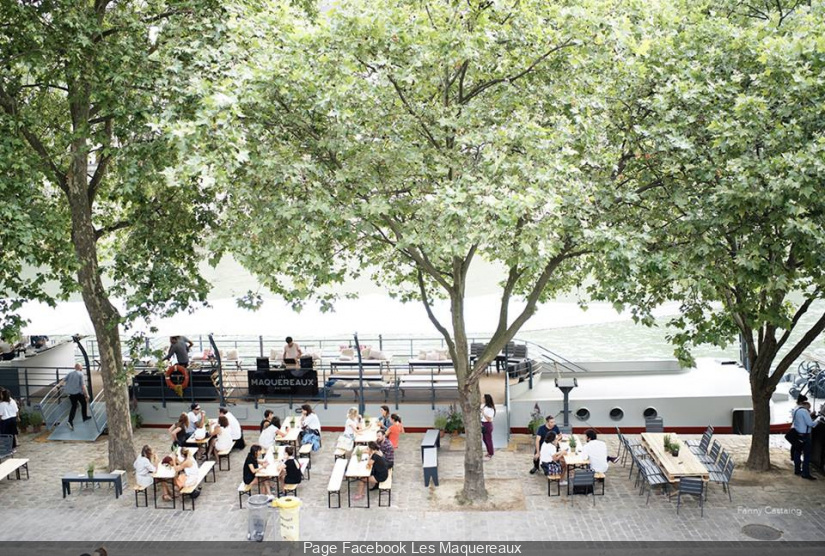 Top des terrasses parisiennes ouvertes ce printemps 2018 for Les terrasses parisiennes