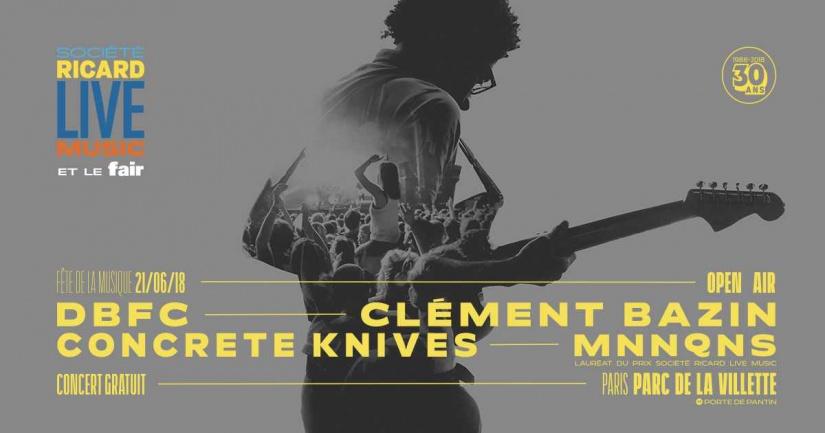 Fête de la musique 2018 à Paris : Société Ricard Live