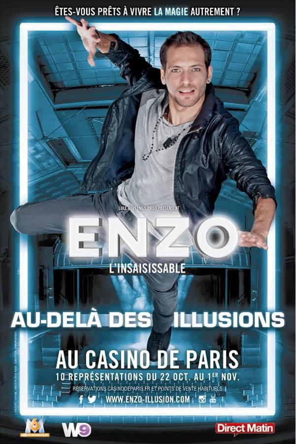 enzo le magicien au casino de paris