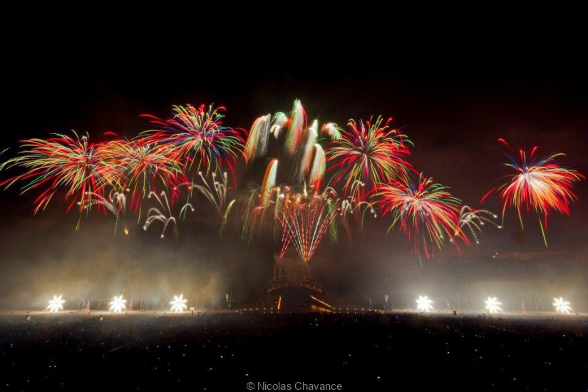 Le Grand Feu d'artifice de Saint-Cloud 2015