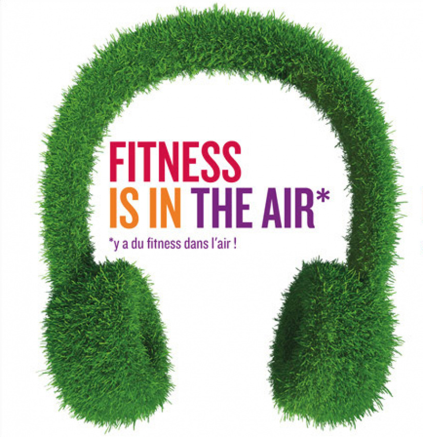 fitness is in the air en silence la d fense. Black Bedroom Furniture Sets. Home Design Ideas
