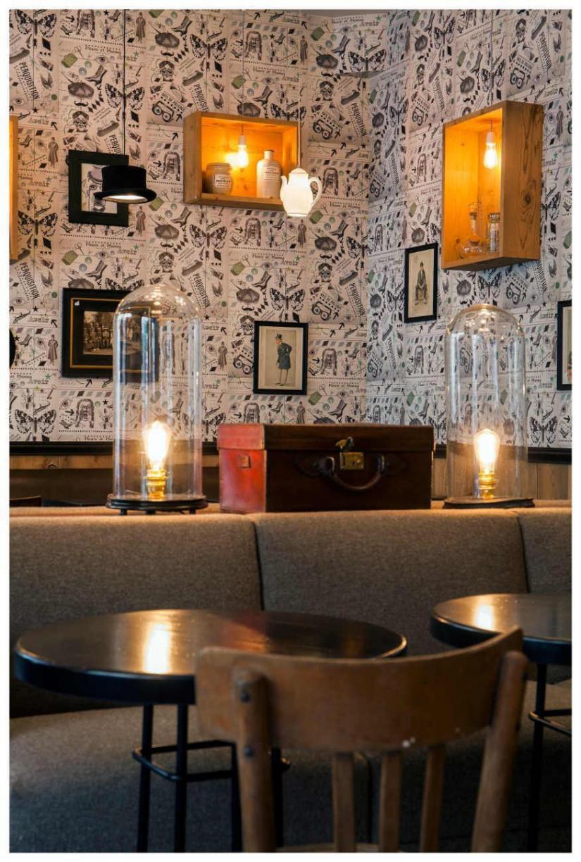 Restaurant Lecomte Paris