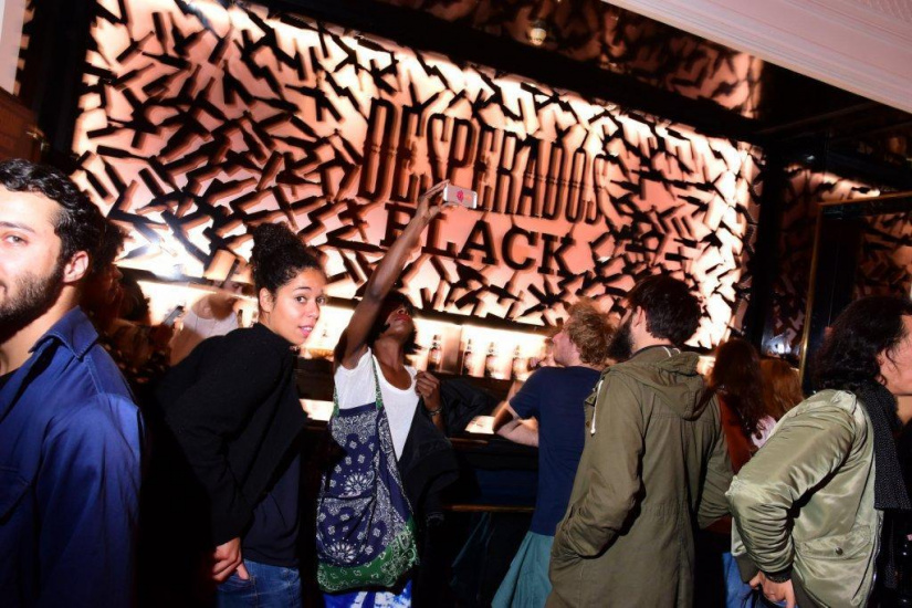Lancement de Desperados Black à Paris