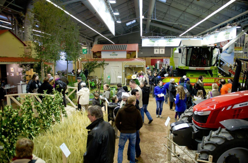 La ferme l 39 odyss e v g tale au salon de l 39 agriculture 2016 for Salon de l airsoft paris