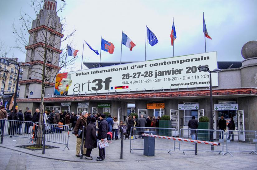 Art3f paris 2019 le salon international d 39 art contemporain - Salon art contemporain paris ...