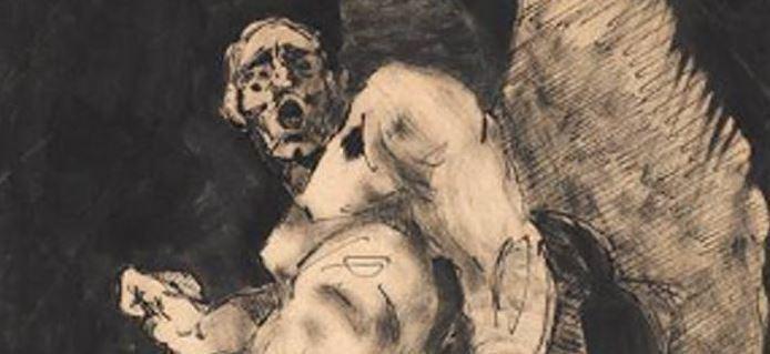 Le broyeur de sombre dessins de jeunesse de bourdelle au - Dessin sombre ...
