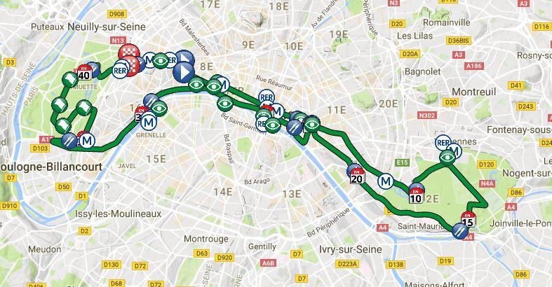 Marathon de paris 2018 bonne course h tel de venise - Date des soldes ete 2017 paris ...
