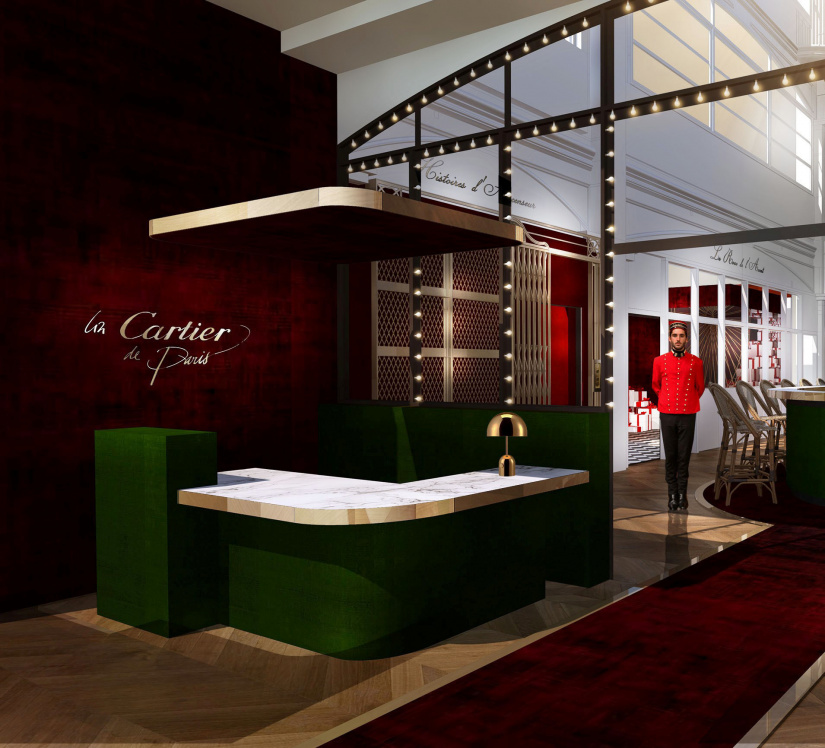 cartier ouvre une boutique ph m re saint germain. Black Bedroom Furniture Sets. Home Design Ideas