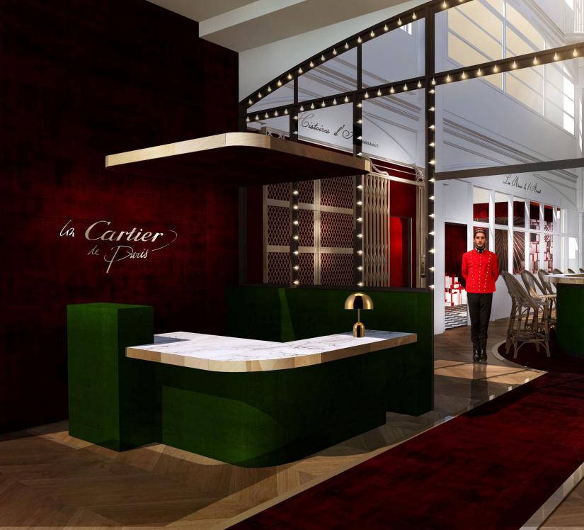 Cartier ouvre une boutique ph m re saint germain - Une boutique dans mon salon marque ...