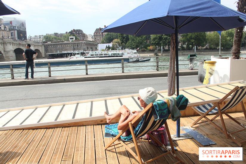 Paris plages 2018 sur les berges de seine les activit s - Piscine plage paris asnieres sur seine ...