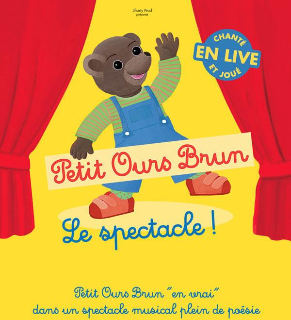 Petit ours brun au th tre le 13 me art - Le comptoir du petit marguery paris 13 ...