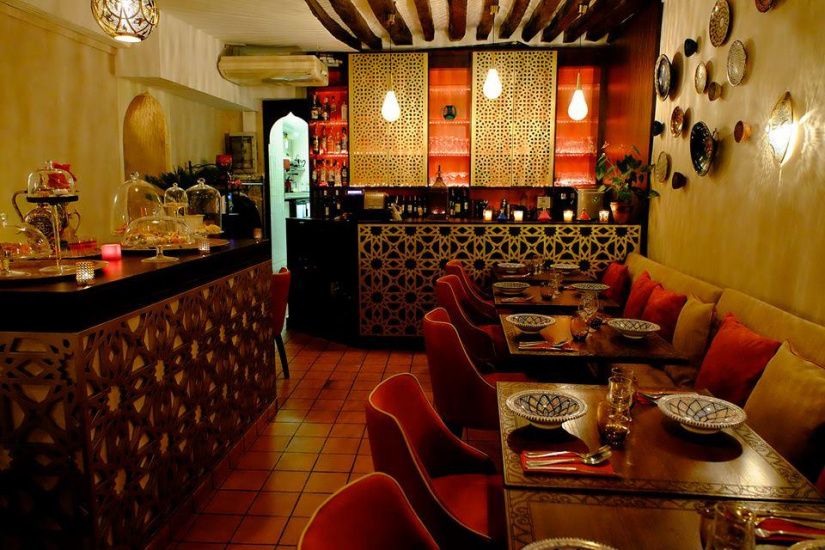 Meilleur Décor Restaurant Paris : Le méchoui du prince restaurant marocain qui envoûte