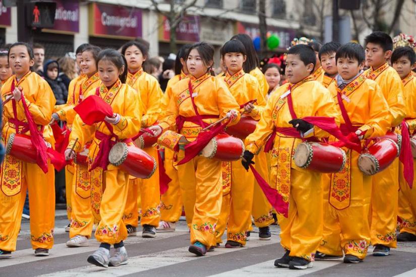 Défilé du Nouvel an Chinois 2017, les photos