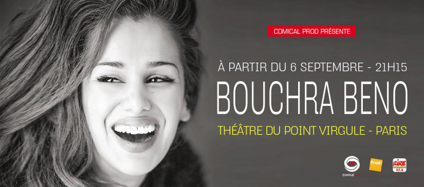 Bouchra Beno au Point Virgule