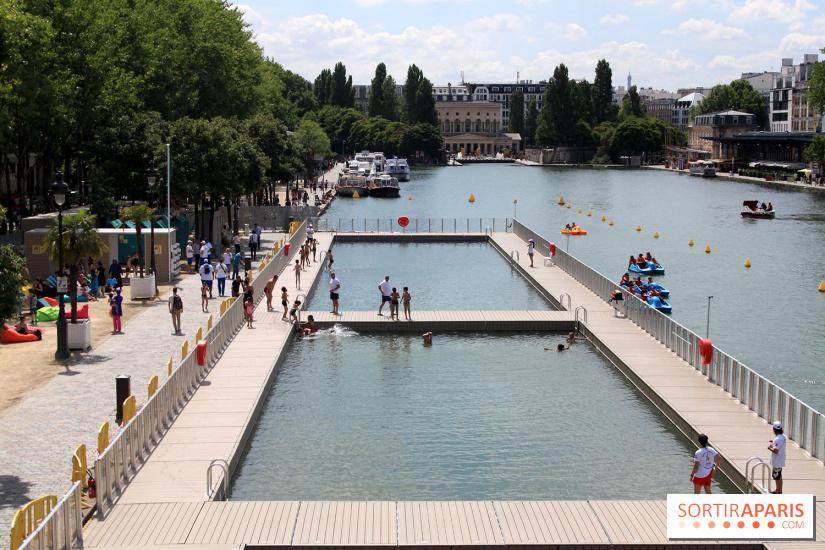 Les piscines d couvertes paris pendant l 39 t for Piscine de villette de vienne