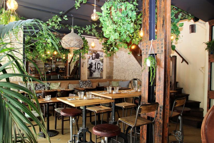 Le top des bars insolites paris - Hotel de mougins restaurant le jardin ...