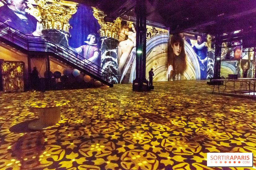 Klimt à l'Atelier des Lumières