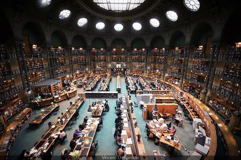 La Bibliothèque Richelieu, berceau historique de la BNF