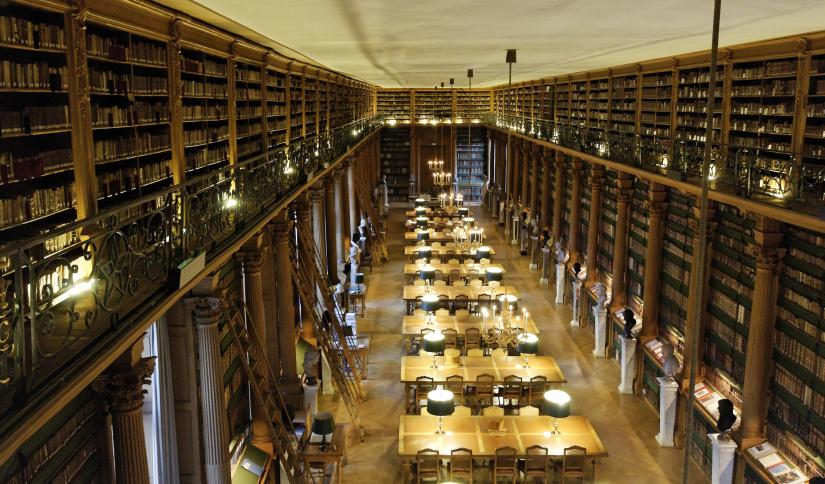 La Bibliothèque Mazarine, la plus ancienne bibliothèque publique de France