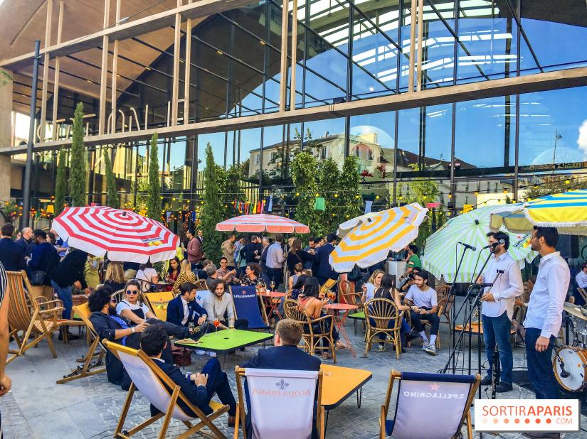 Felicità, le restaurant XXL de Station F by Big Mamma, les photos