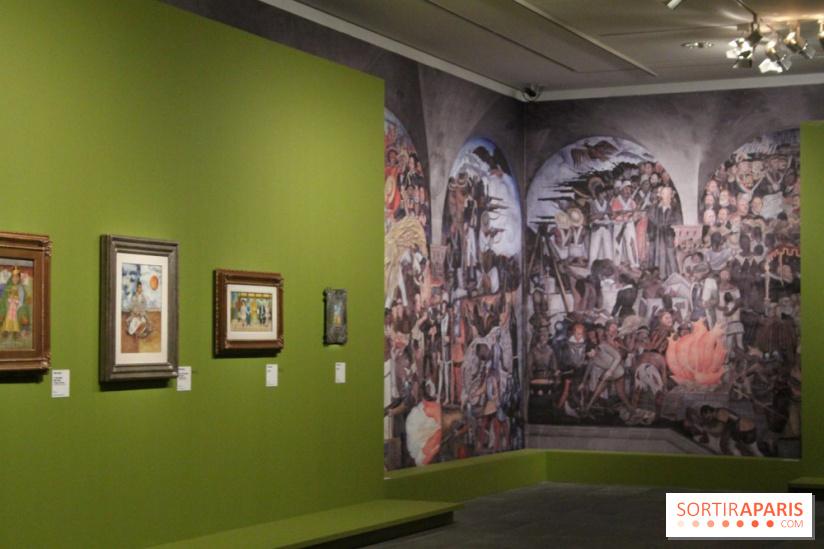 Exposition Frida Kahlo Et Diego Rivera Au Mus U00e9e De L