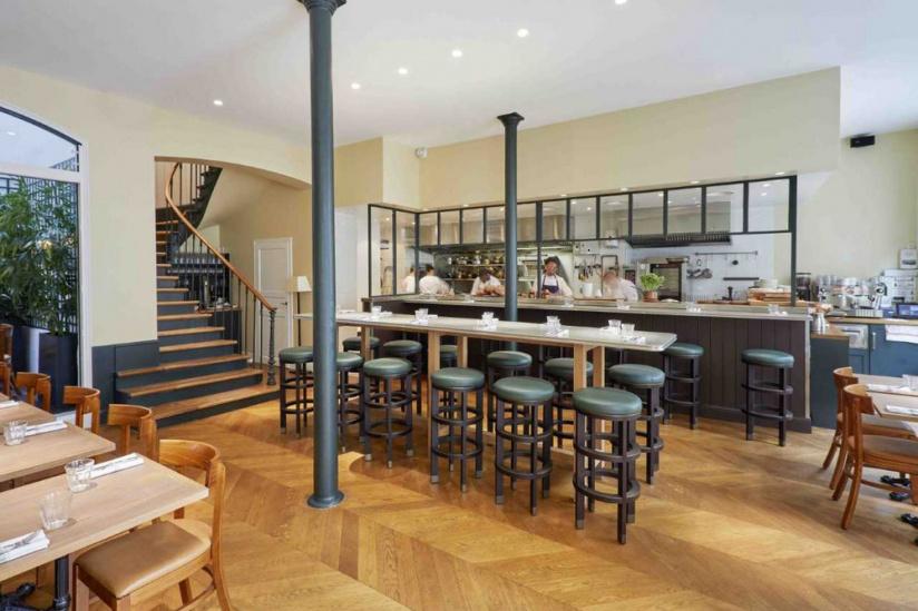 j ia le nouveau restaurant d 39 h l ne darroze paris. Black Bedroom Furniture Sets. Home Design Ideas