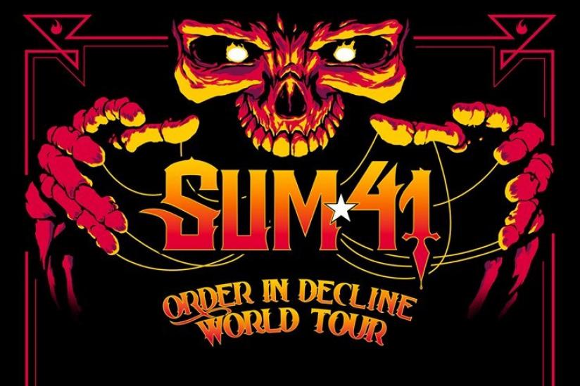 Sum 41 en concert au Zénith de Paris en janvier 2020