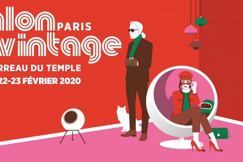 Salon du Vintage de Paris 2020 au Carreau du Temple