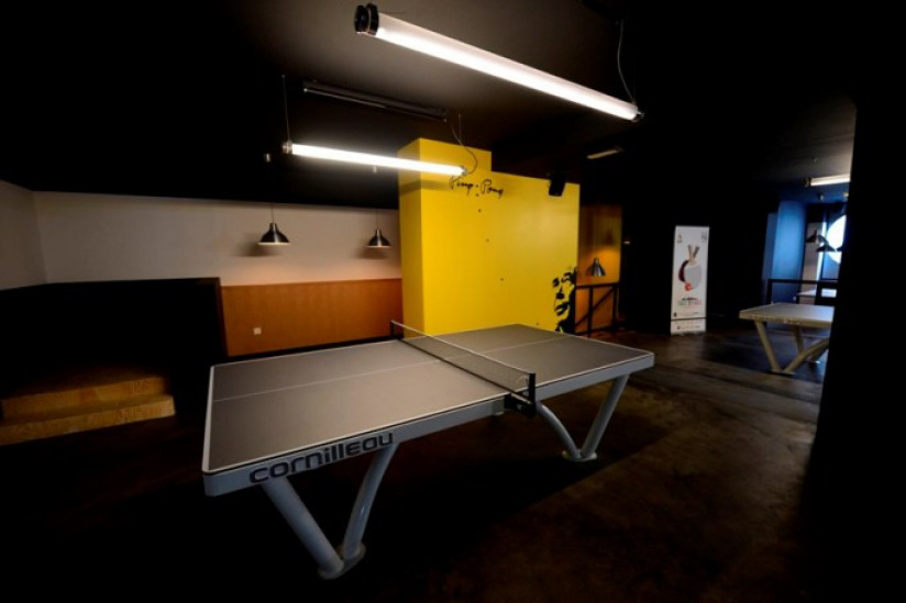 Gossima Le Premier Ping Pong Bar De Paris Sortiraparis Com