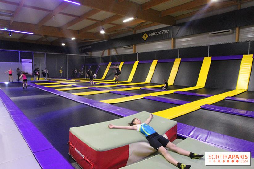 O Jump Park Le Premier Trampoline Park Des Yvelines