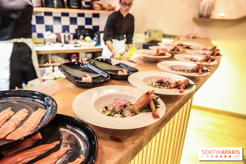 Ao izakaya le restaurant franco nippon du chef yasuo - Restaurant japonais paris cuisine devant vous ...