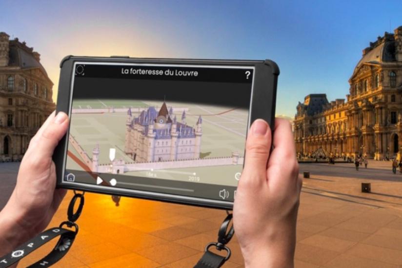 Visite de Paris en bus et en réalité augmentée