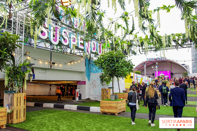 Opening of the Jardin Suspendu: the huge green rooftop of Paris Expo ...
