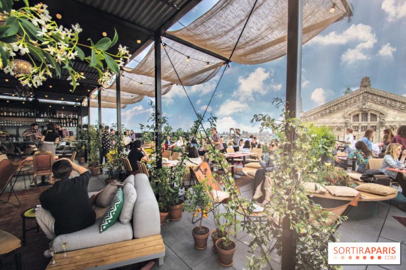 cr u00e9atures   le nouveau restaurant en rooftop sur la