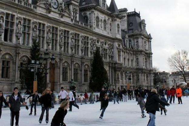 patinoires de noel paris 2018 La patinoire de l'Hôtel de Ville 2017 2018, annulée   Sortiraparis.com patinoires de noel paris 2018
