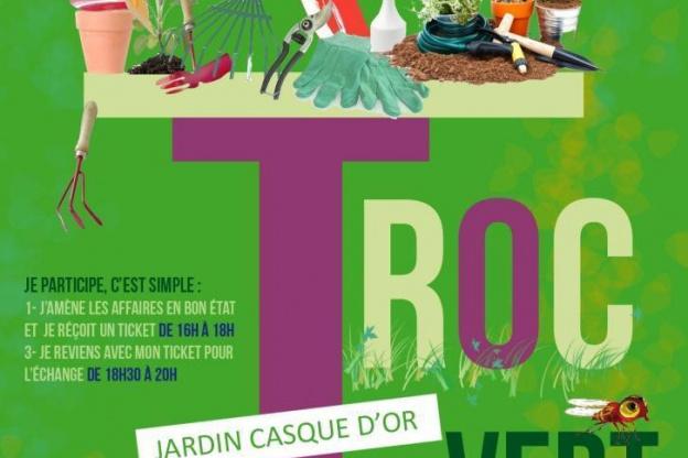 TROC VERT à la Fête de la Nature et des Solidarités - Sortiraparis.com