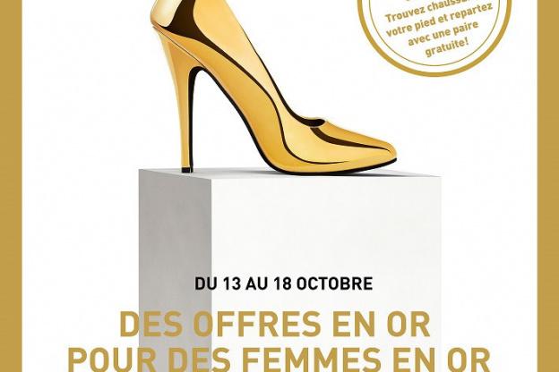 3b8ac567ccde77 Gagnez les chaussures de vos rêves lors de la Semaine des Femmes en ...