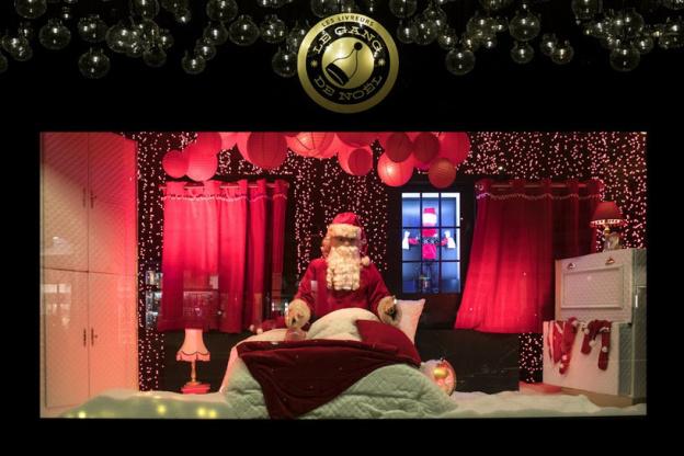 Les Vitrines De Noel 2018 Au Bon Marche Rive Gauche Sortiraparis Com