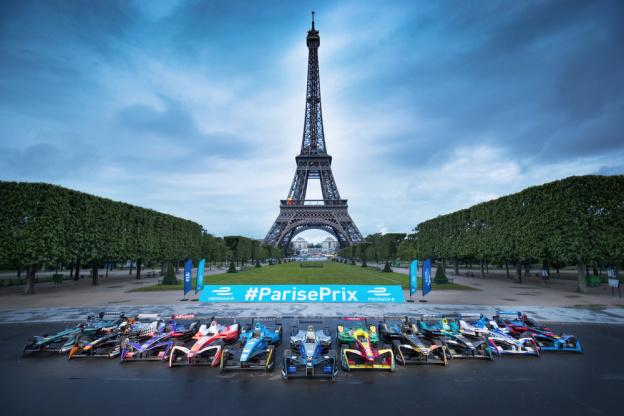 Formula E Paris 2018 La Course De Formule 1 Electrique Aux