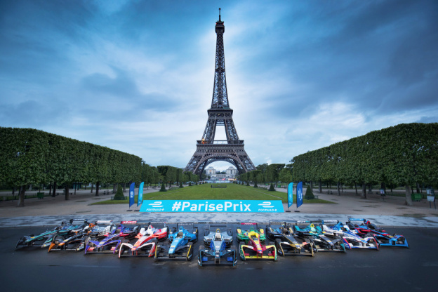The Formula E In Paris 2019 The Auto Racing Championship