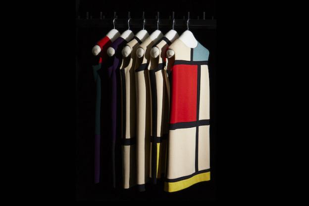 482ee826cbe Mondrian dress-paintings and Claude Lalanne jewels, the exhibition at Paris  Musée Yves Saint-Laurent