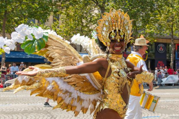 Paris Carnaval Tropical 2019 returns on the Champs Elysées