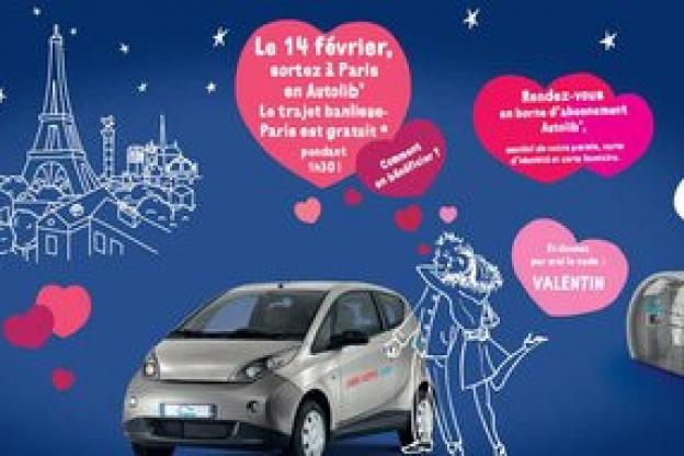 autolib gratuit pour la saint valentin - sortiraparis
