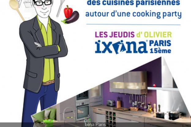 les cours de cuisine gratuit d 39 ixina paris. Black Bedroom Furniture Sets. Home Design Ideas