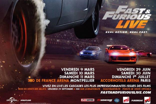 Fast Furious Live At Paris Arena Bercy In 2018 Sortirapariscom