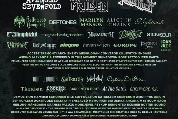 Programmation Et Reservations Hellfest 2018 A Clisson Dates