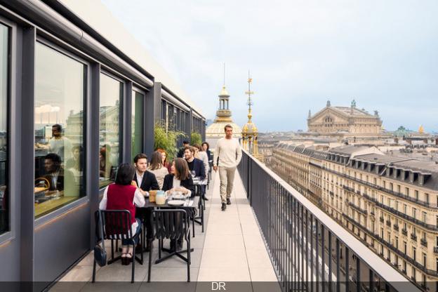 Printemps Du Gout Reveals Its Perched Terrace Sortiraparis Com